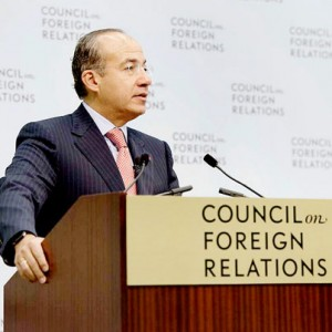 Felipe Calderon at the Council on Foreign Relation