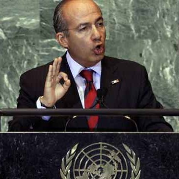Calderon: U.N. must lead a debate on drug policy