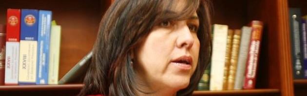 Colombia Justice Minister Ruth Stella Correa