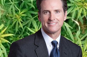 Lt. Gov. Gavin Newsom calls for marijuana legalization at 2013 CADEM Convention